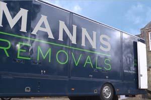 Manns Removals Van