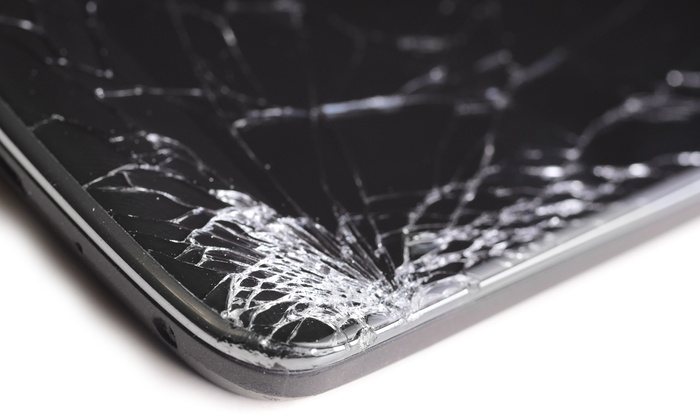Broken iPhone/iPad screen easily repaired